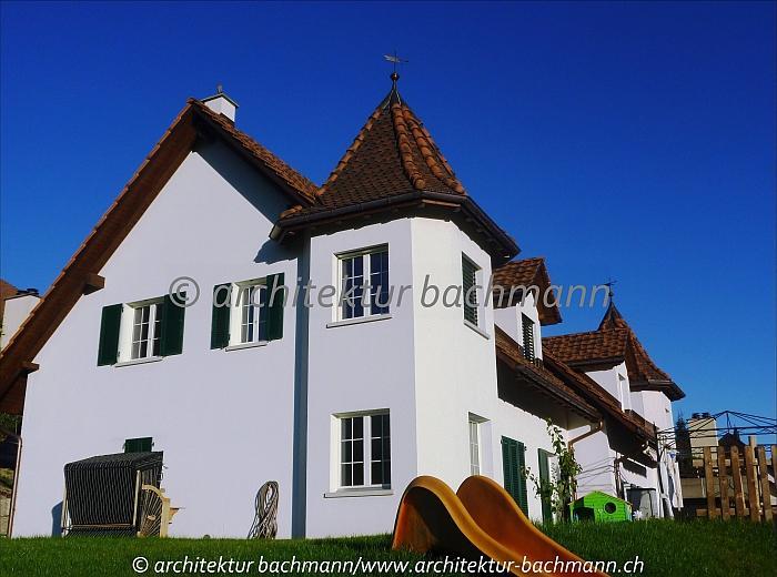 Turmh user landh user turm landh user ch exklusiver landhausbau schloss schl ssli - Bachmann badie architekten ...