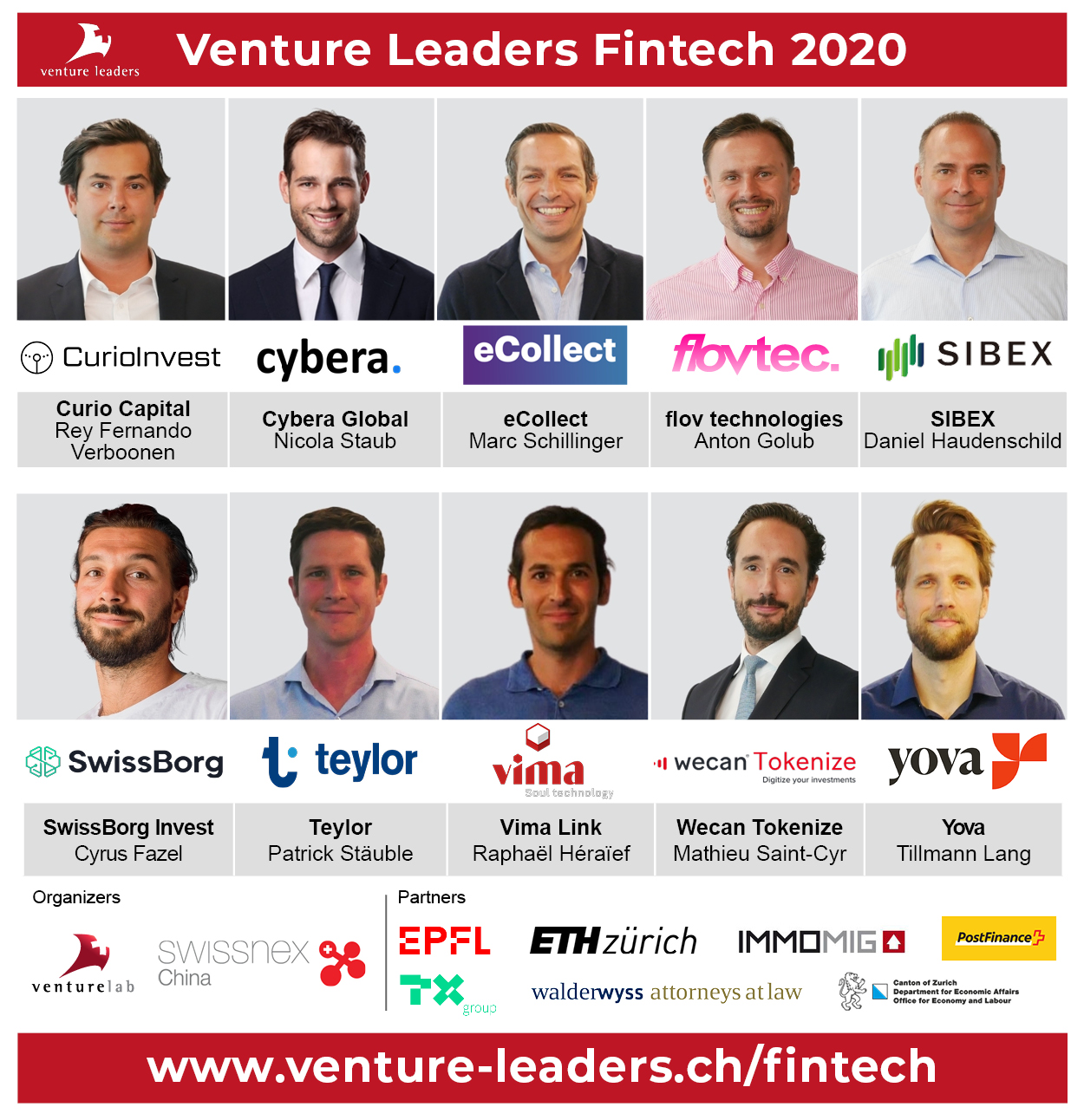 Meet the Venture Leaders Fintech 2020