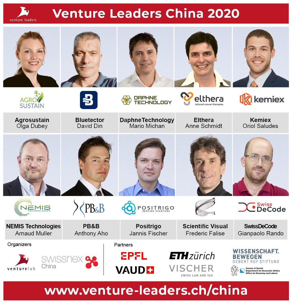 Meet the Venture Leaders China 2020